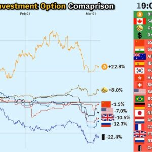 2020 Global Financial Crisis / Investment Option Comparison (March 30 update)