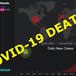 COVID-19 Deaths Worldwide, by Country & Daily New Confirmed Cases