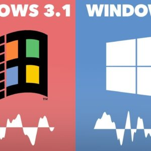 Evolution of Windows Startup and Shutdown Sounds + Slowed Down 300%