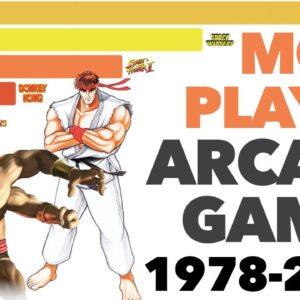 Most Played Arcade Games 1978 - 2020 (by Earnings)