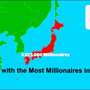 The Countries With the Most Millionaires Ranking (Wealth in U.S. Dollar)
