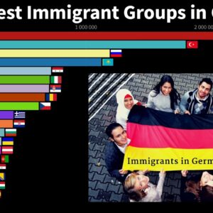 The Largest Immigrant Groups in Germany (By Country of Birth)