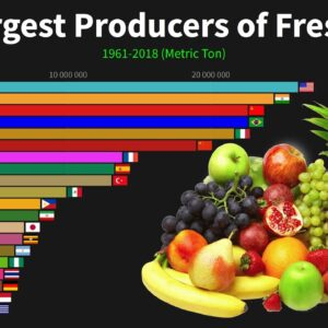The Largest Producers of Fresh Fruit in the World