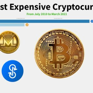 The Most Expensive Cryptocurrencies From July 2010 to March 2021