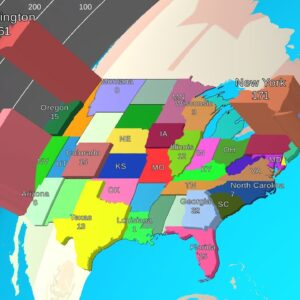 The Spread of Coronavirus in the USA since the 1st Confirmed Case.