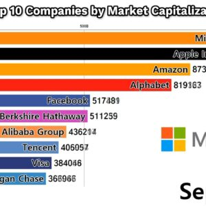 Top 10 Companies by Market Capitalization (1998-2019)