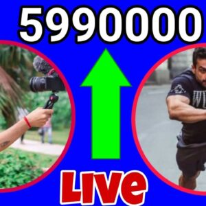 Sourav Joshi Vlogs and Flying Beast To 6 Million Subscriber's Live Subscriber Count