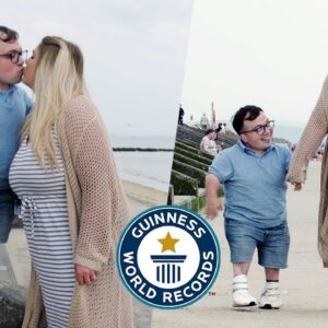 Biggest Height Difference (THEY'RE MARRIED) - Guinness World Records