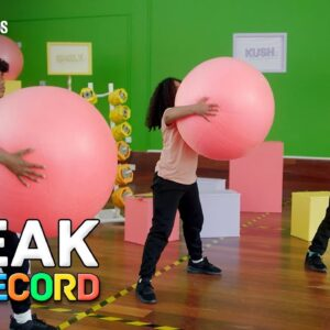 Breaking A GUINESS WORLD RECORDS title With Swiss Balls!