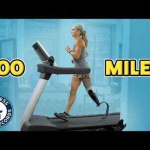 Can she run 100 miles in under 22 hours?! - Guinness World Records