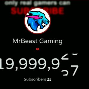 Exact Moment MrBeast Gaming Hits 20 Million Subscriber's On YouTube