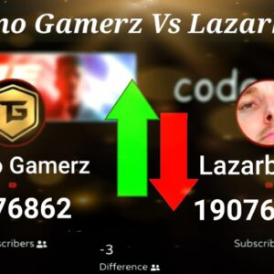 Exact Moment Techno Gamerz Passes Lazarbeam In Subscribers