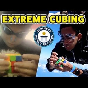 Extreme Speed Cubing 2021 - Guinness World Records