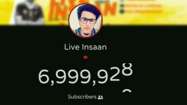 Live Insaan Hits 7 Million Subscribers