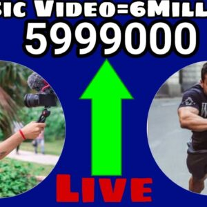 Sourav Joshi Vlogs and Flying Beast To 6 Million Subscriber's Live Count