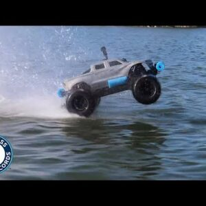 RC Car drives on WATER for Guinness World Records title!