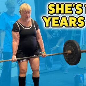 World's Oldest Competitive Powerlifter - Guinness World Records