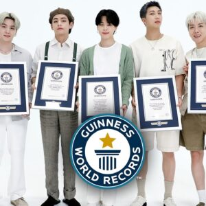 BTS have how many records?! - Guinness World Records