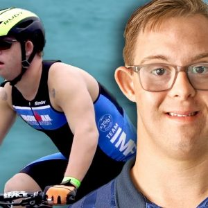 First IRONMAN® athlete with Down's syndrome - Guinness World Records