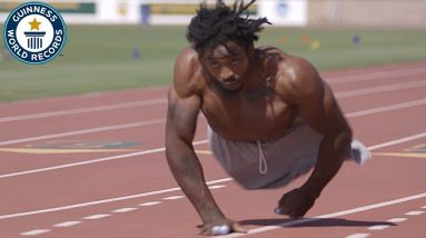 The fastest man on two hands - Guinness World Records