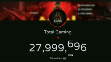 Total Gaming Hits 28 Million Subscribers | Exact Moment