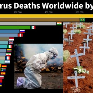 Countries With The Highest COVID-19 Deaths Number