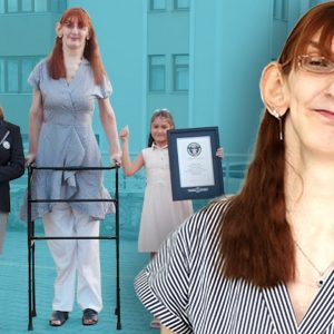 NEW: Tallest Living Woman - Guinness World Records
