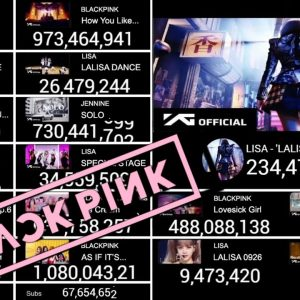 Blackpink - 'Lalisa' | 'Money' Live View Count | How You Like That To 1 Billion Views